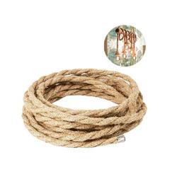 Cuerda de cañamo 10mm * 10m, 2 rollos