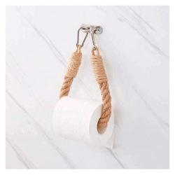 soporte papel higienico de cañamo cuerda lux