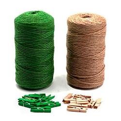 cuerda cañamo colores cordel pra decoracion 2x100m
