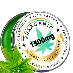 Bálsamo de Cáñamo de alta calidad antiinflamatorio natural 1500 mg para dolor