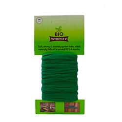 Biostretch, Cordel de jardín, hilo de jardín, amarre inteligente para plantas, soporte flexible elástico 8 metros