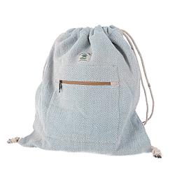 Bolsa de cáñamo ethnico artesanal diseño de gimnasia deporte 40x35 cm