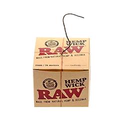 Cáñamo RAW mecha con cera de abeja 76 m dispensador de unidades