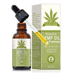 Cáñamo en gotas para ansiedad para sueño orgánico natural 3000 MG | 30ml 1 pack