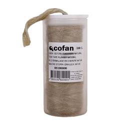 Envase de cinta estopa de cáñamo, 100 g Cofan 08101088