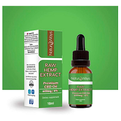 Extracto de Cáñamo Orgánico 600Mg (6%) - Alivia el estrés, dolor y ansiedad - 10ml Vegano
