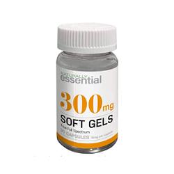 Extracto de cáñamo eespectro completo marca Naturally Essential 30 cápsulas de gel suave – 10 mg por cápsula