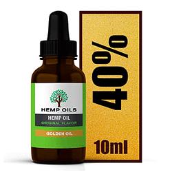 Extracto de cáñamo gotas extra fuertes maxima concentracion de 40 %, 4000 MG 10 ml