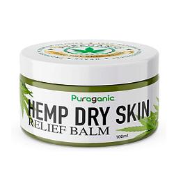 Extractos naturales de cáñamo balsamo para la piel seca biológico 100 ml