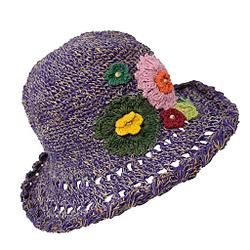 Gheri cáñamo algodón paja sombrero de sol Panamá