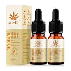 Gotas cáñamo orgánico 3000 MG 10 ml Bioactivo premium ansiedad alivio relajación