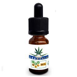 Gotas de extracto de cáñamo orgánico espectro completo concentrado 2000Mg (20%) 10 ml estrés, dolor y ansiedad