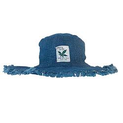 HempStyle - Sombrero de cáñamo unisex, color azul