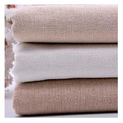 Lienzo de algodón y cáñamo 145 cm para muñecas de costura retazos pinturas textiles
