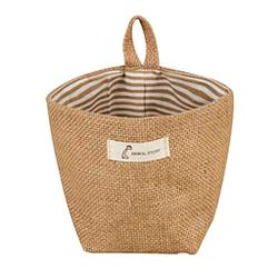 Ruikey bolsa de fibra del cáñamo colgante almacenamiento bolso de mano premium