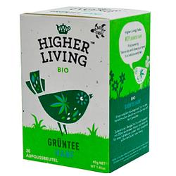 Te de Cáñamo (20 unidades, 40 g) marca Higher Living Bio Grüntee CBD