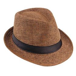 sombrero Casual Cáñamo Algodón Panamá