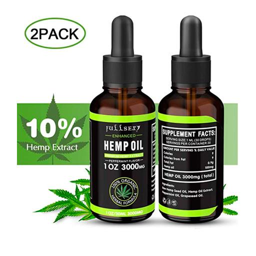 Aceite de cañamo 10% uso topico