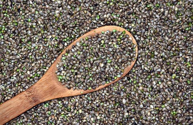 semillas de cáñamo propiedades